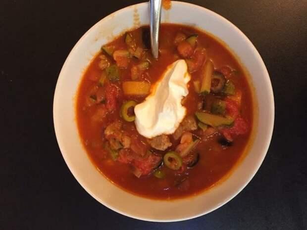 Солянка мясная еда, кулинария, рецепт, солянка