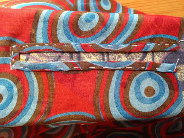 Как сшить блузку с баской, если не хватает ткани