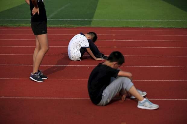 Китайские спортсмены