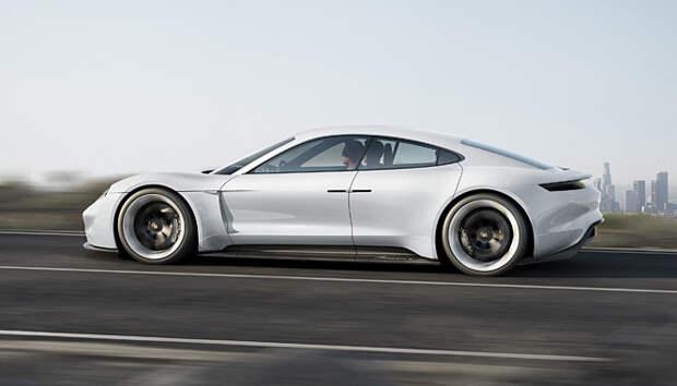 Mission E Concept от Porsche