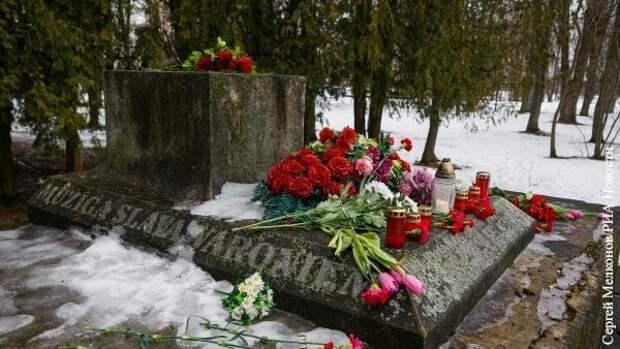 Русские активисты нашли виновных в краже советского памятника в Латвии