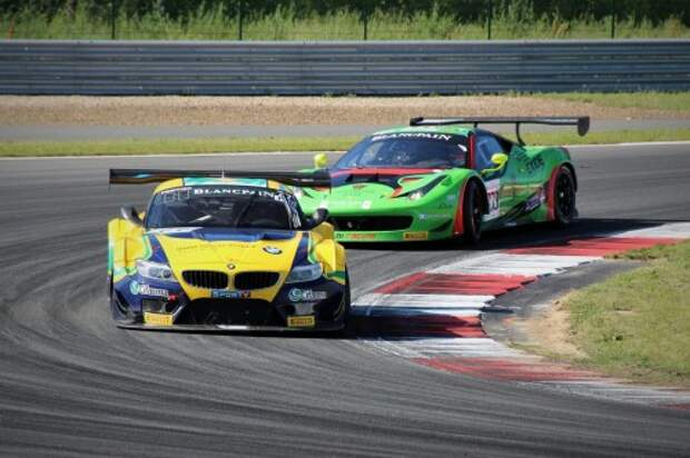 Blancpain Sprint Series на Moscow Raceway: фотогалерея