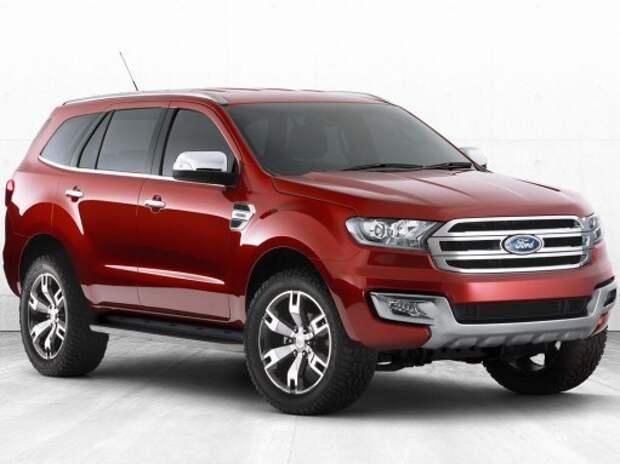 У Ford скоро появится новый рамный внедорожник Everest