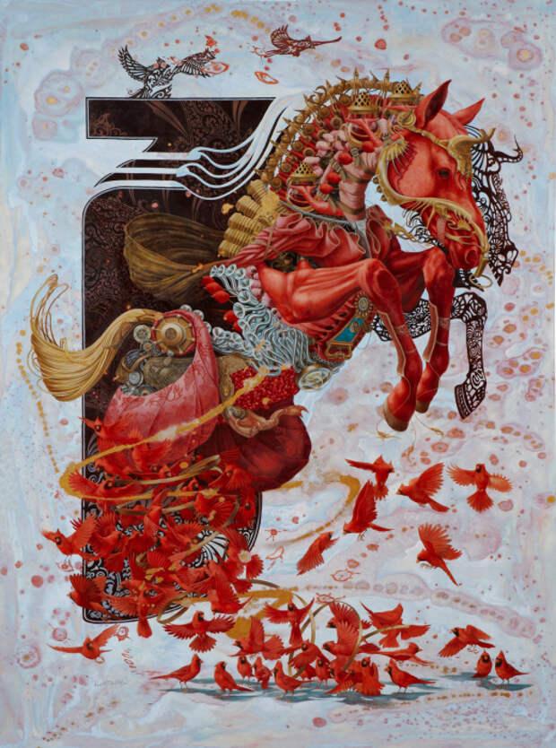 На грани безумия: Сюрреалистические картины, вызывающие бурю противоречивых чувств и эмоций