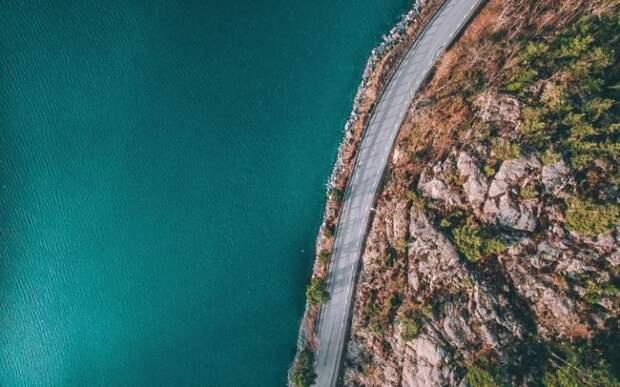 Швеция с высоты