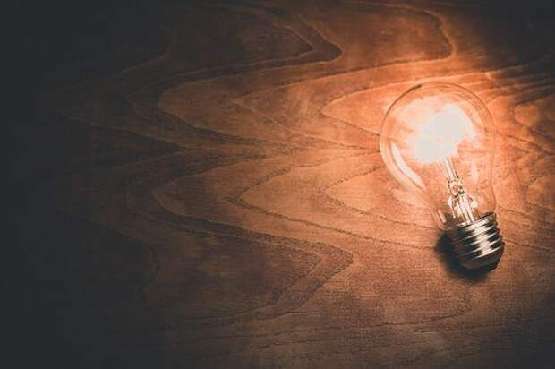 Лампочка, Свет, Шарик, Энергия