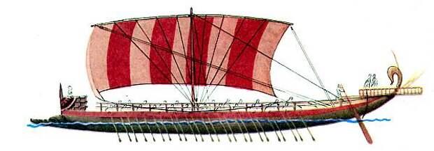 Ранняя греческая бирема