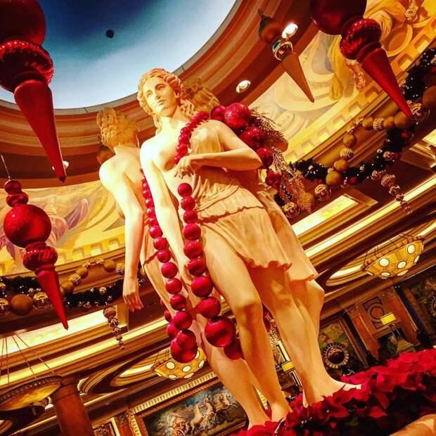 Гостиница Caesars Palace в Лас-Вегасе