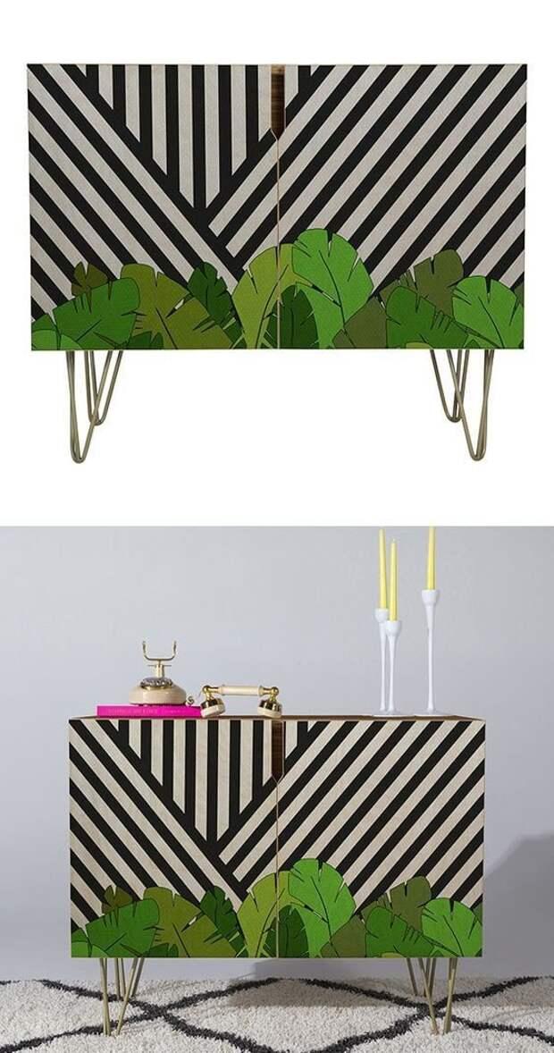 Комоды как холст для создания дизайнерской мебели