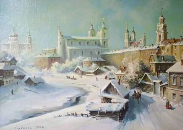 художник Владимир Краевский картины – 55