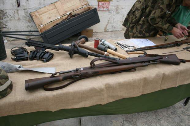 Немецкие карабины.  MG42, война, история, оружие, реставраторы