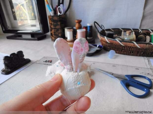 Лоскутное шитье. Кошелек с кроликом (45) (700x524, 249Kb)