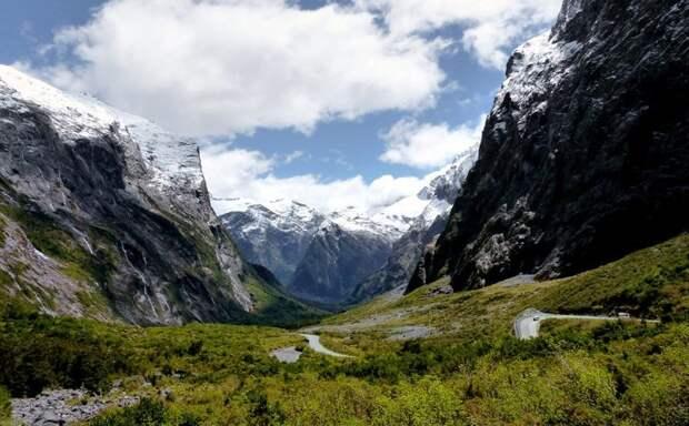 8. Национальный парк Фьордленд (Новая Зеландия) заповедник, заповедники, национальные парки, национальный парк, парки, познавательно, страны мира, туристу на заметку