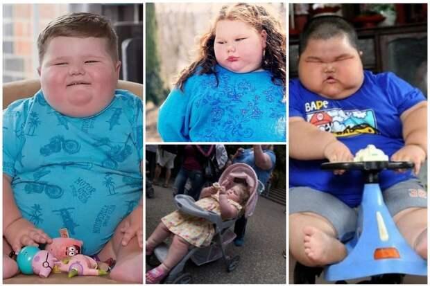 В 1980-е годы из 10 детей один был с ожирением. Сейчас семь из десяти — с повышенной массой тела
