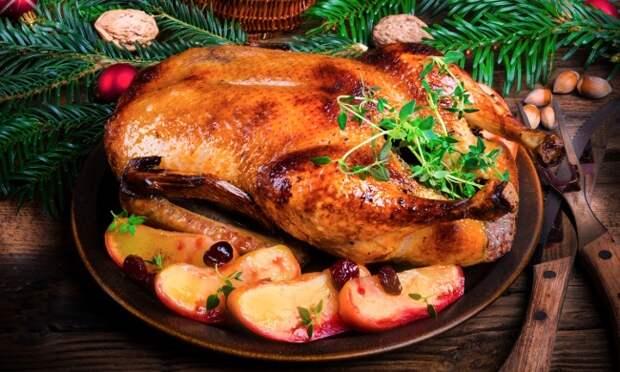 6 секретов вкусной праздничной утки с яблоками