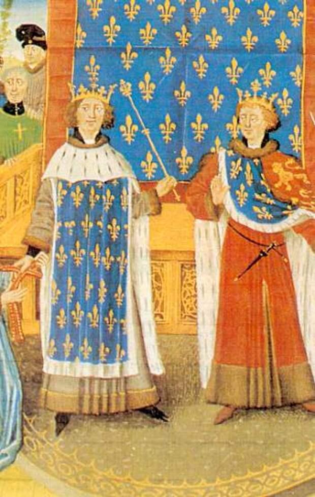 Филипп II Август и Ричард Львиное Сердце.jpg