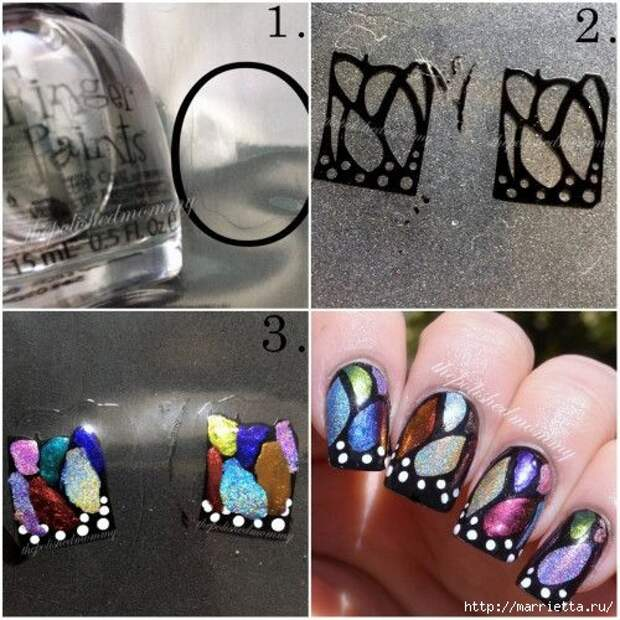 Как нарисовать бабочку на ногтях (33) (500x500, 181Kb)