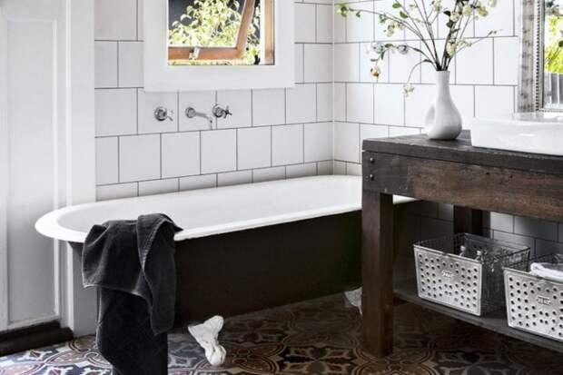 7 простых способов обновить ванную комнату без ремонта