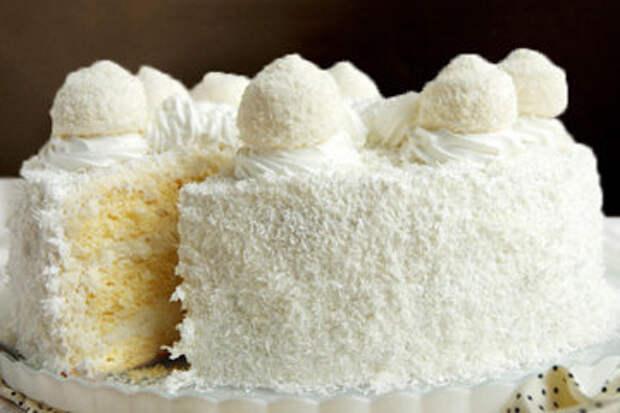 Торт Рафаэлло