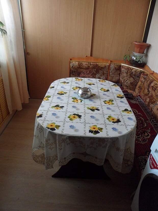 Большой раздвижной стол в столовую своими руками