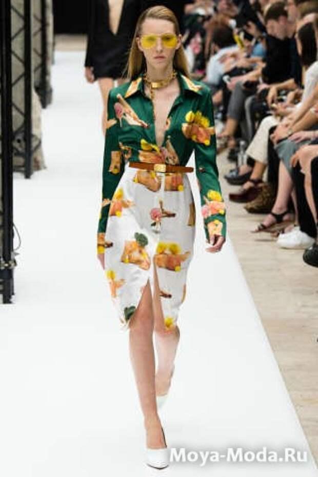 Модные юбки весна-лето 2015 Acne Studios