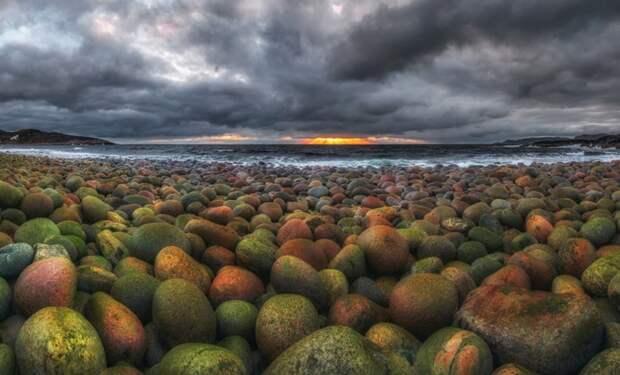 На краю Мурманской земли земля, красота, природа, россия