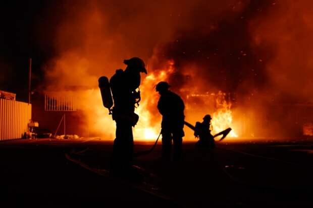 ЧП в Крыму: горели дома и гараж
