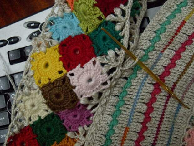 Вязание крючком. Легендарный квадрат А.Кузнецовой