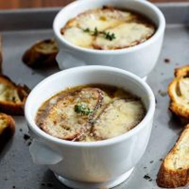 Луковый суп – классический рецепт