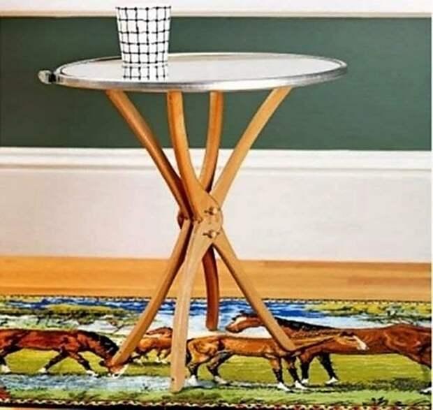 Мебель из вешалок - плечиков (подборка)