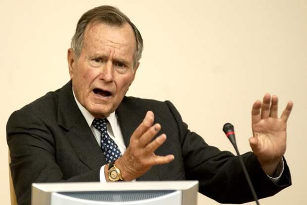 Джордж Буш-старший рассказал в мемуарах, что решение о развале СССР они с Ельциным приняли в бане