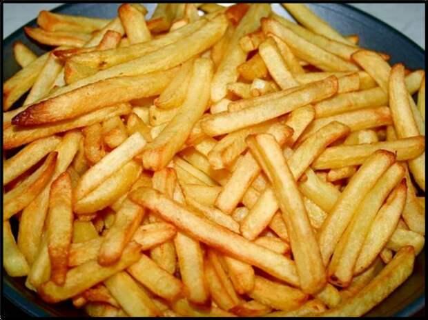Картошку ФРИ готовлю БЕЗ капли масла, жира и яичных белков