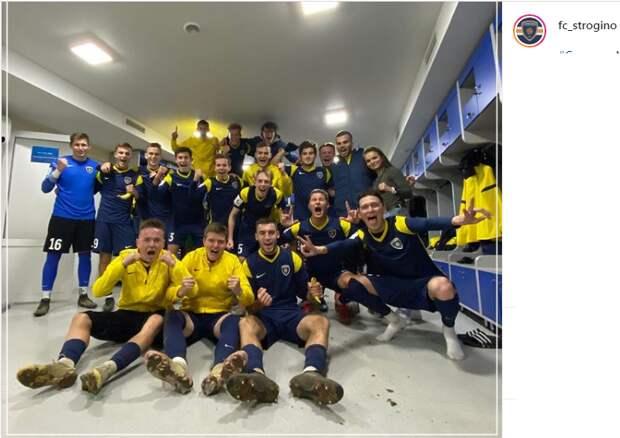 Футбольный клуб «Строгино» забил пять безответных мячей в ворота «Металлурга»