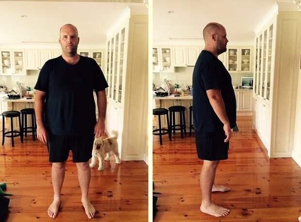 """Эндрю Флиндерс Тейлор, который начал свой эксперимент """"Spud Fit"""" 1 января 2016 года, надеется изменить свои отношения с едой и побороть свою """"пищевую зависимость"""" оригинальным способом - не есть ничего, кроме картошки, 366 дней. америка, диета, картофель, проект"""