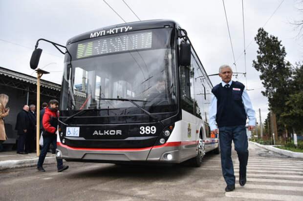 В столице Кубани собрали первый троллейбус