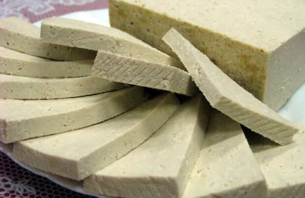 Приготовление сыров в домашних условиях: твердый соевый сыр тофу
