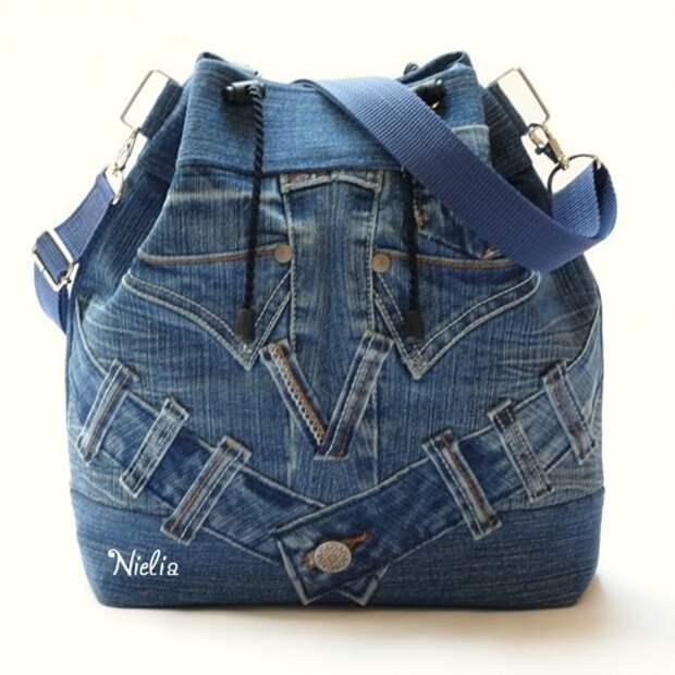 Nielia - сумки из джинсов (часть1)