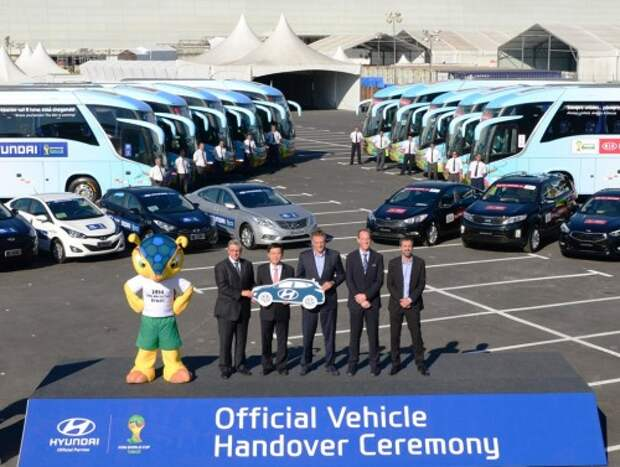 Hyundai-Kia — автомобильный спонсор ФИФА
