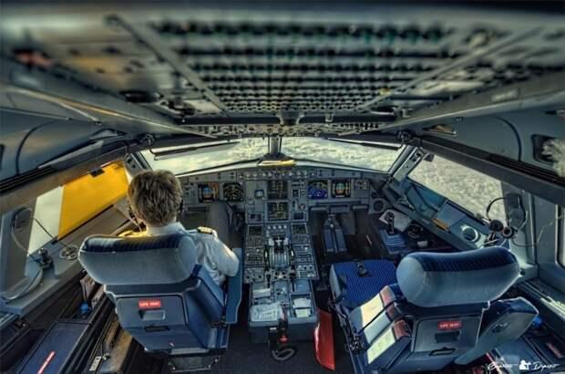 fromcockpit08 25 фотографий, сделанных пилотами из кабин самолетов