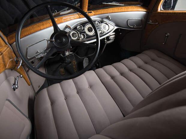 Роскошный и редчайший автомобиль 1930-х: Pierce-Arrow Silver Arrow Pierce-Arrow, Silver Arrow, аукцион, олдтаймер, ретро автомобиль