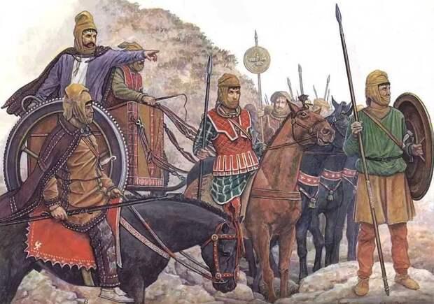 Дмитрий Карасюк Дарий III, раздавленный враг македонцев