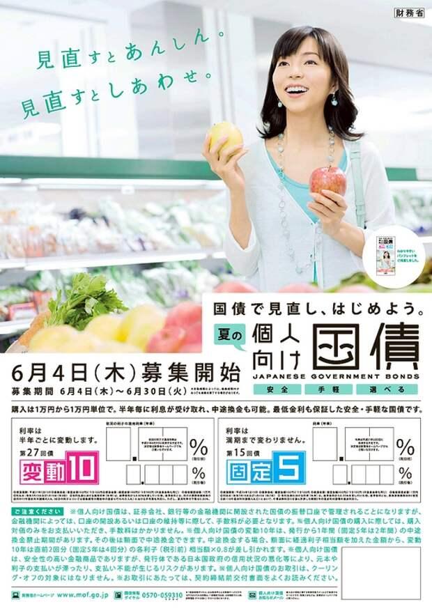Рекламный плакат, призывающая японцев покупать гособлигации