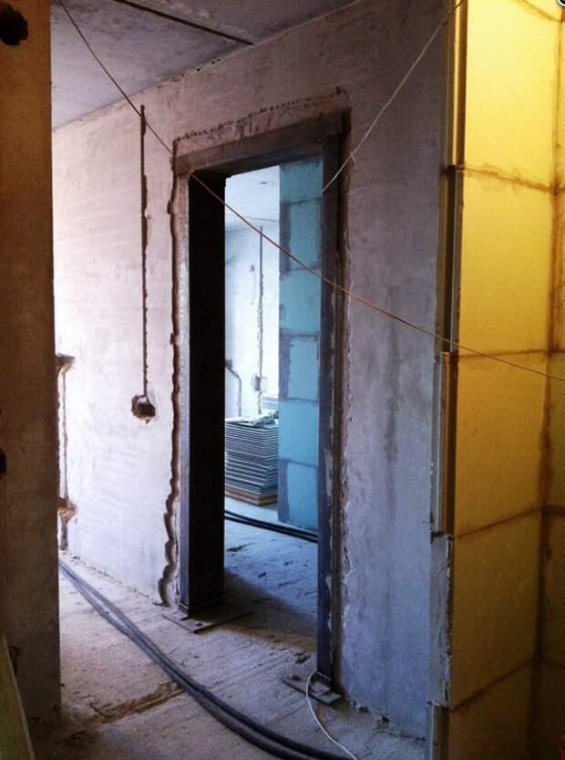 Ремонт на практике. Как перенести дверной проем в несущей стене: советы архитектора