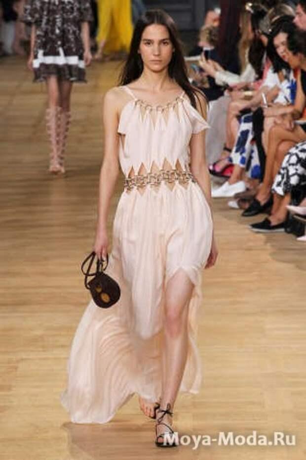 Модные сарафаны весна-лето 2015 Chloe