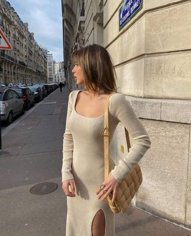 Трикотажное платье – изящное дополнение любого гардероба