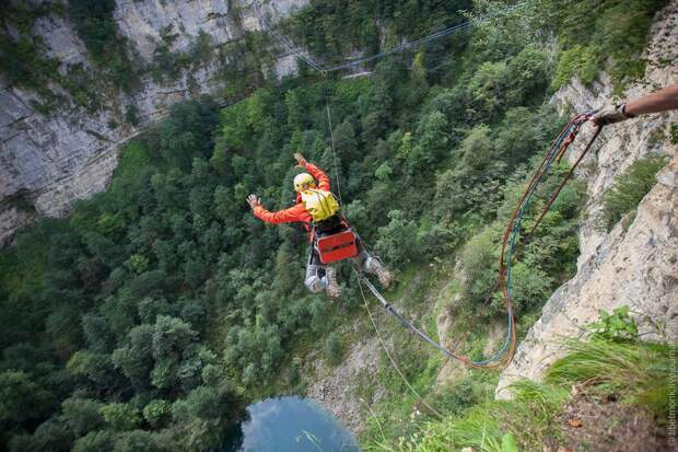 ropejumping36 Прыжок в Сухое озеро