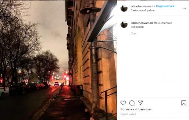 Фото дня: красные огни светофоров на 4-м Вятском
