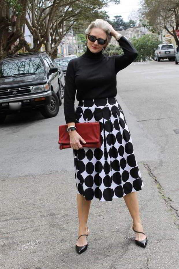 Мода для женщин за 50: тенденции 2018 года