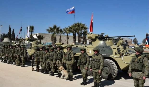 Россия показала обученных сирийских военных