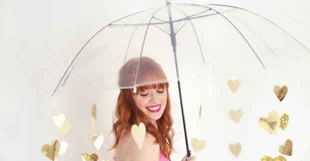 Идея для фотосессии с зонтом (Diy)